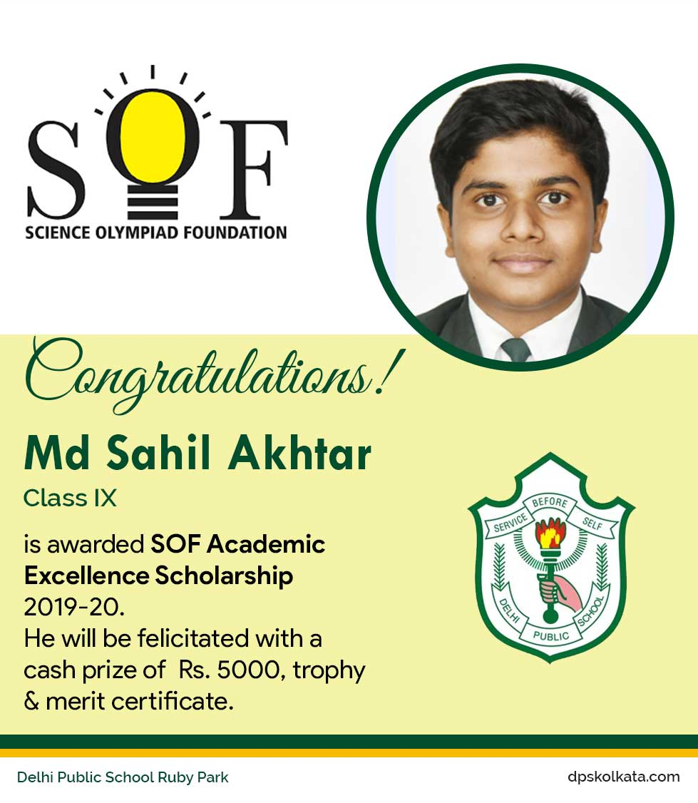 SOF ACADEMIC EXCELLENCE SCHOLARSHIP 2019-20