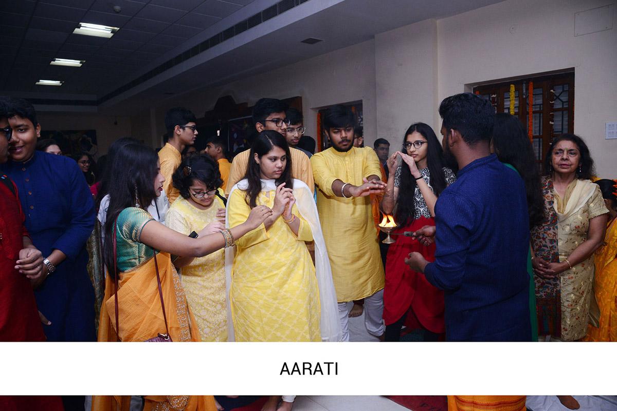 Saraswati Puja 2020 Celebration