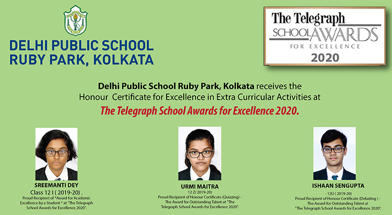 TELEGRAPH SCHOOL AWARD 2020