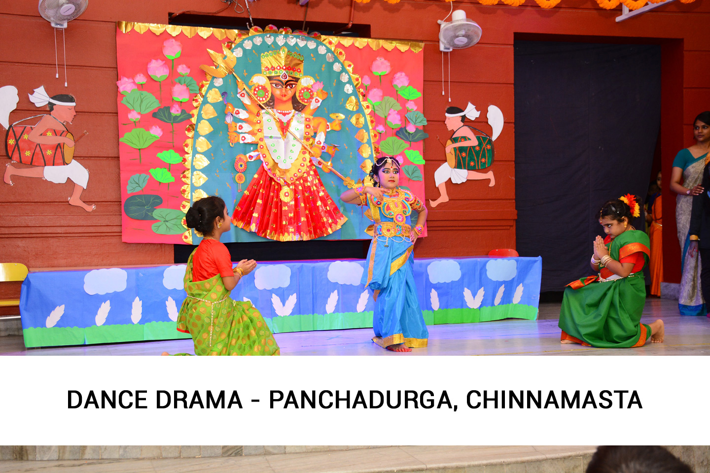 Durga Puja Special Assembly for Junior School