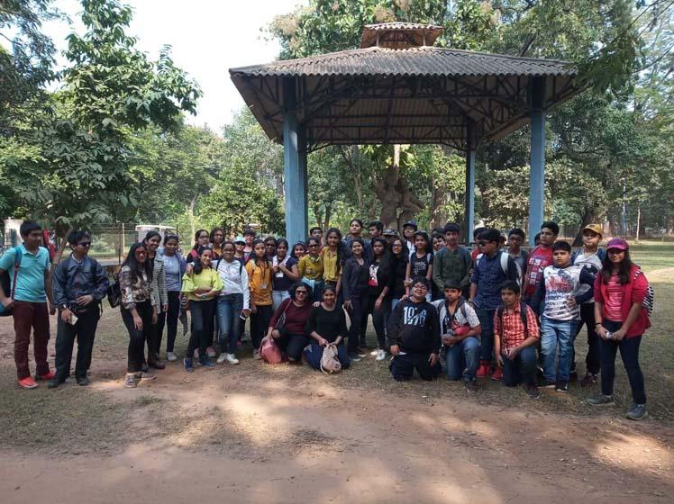 Educational trip to Santiniketan
