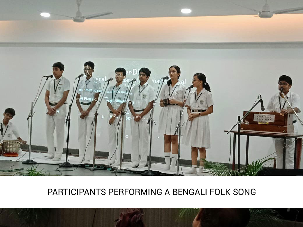 Inter Dps Hindustani Vocal Music Festival SWARANJALI 2019 (Eastern zone)