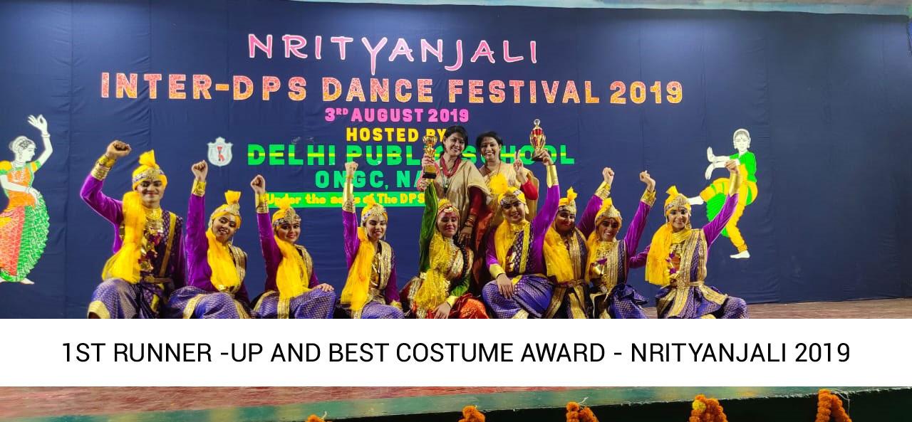 "Inter DPS Dance Festival ""NRITYANJALI"" 2019"