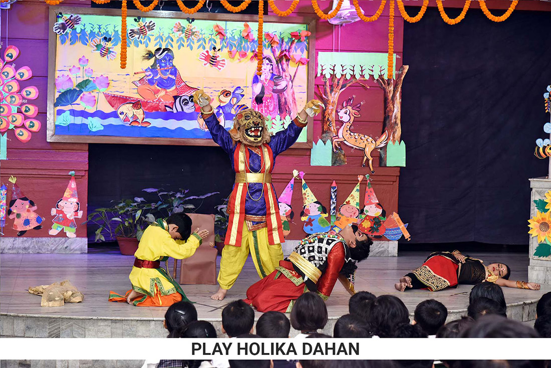 Holi Special Assembly