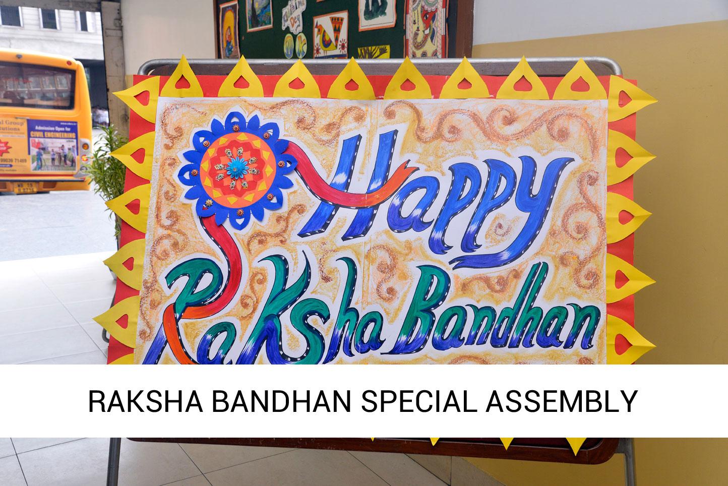 Raksha Bandhan Assembly 2019 – 20