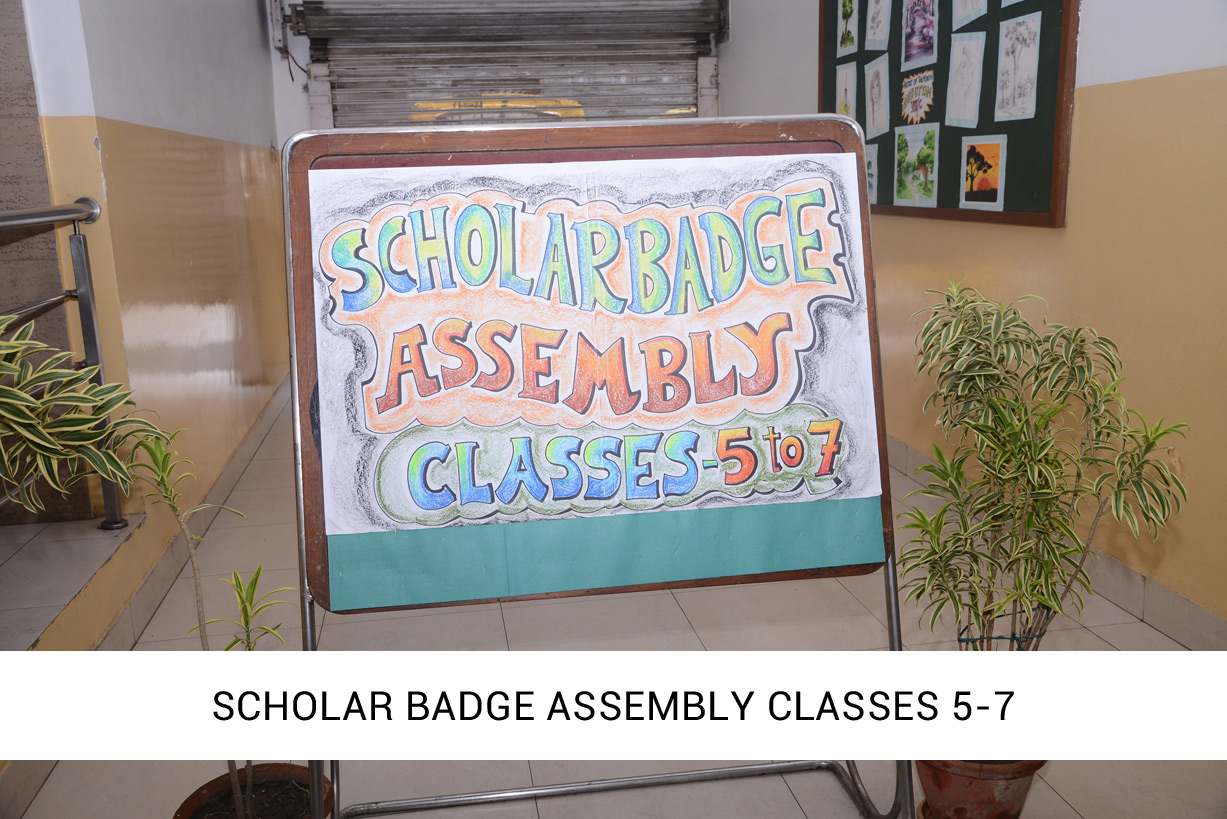 Scholar Badge Assembly 2018-2019 (Classes 5 – 7)