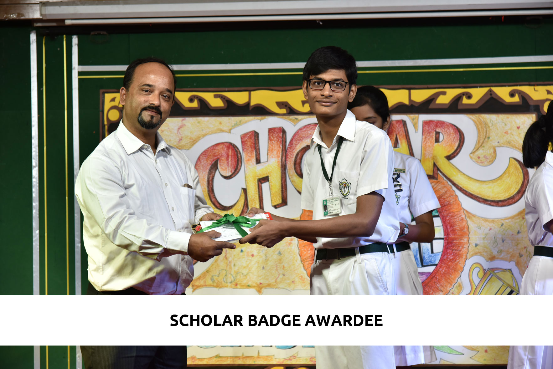 Scholar Badge Special Assembly