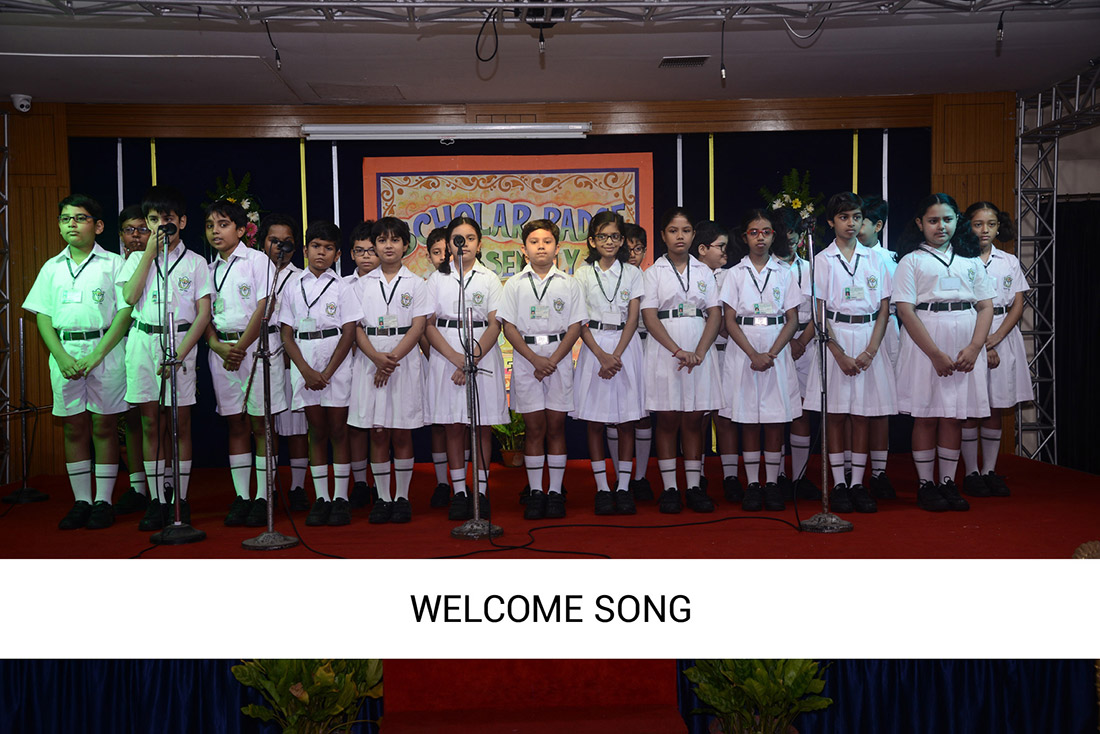 Scholar Badge Assembly 2018-19 (Classes 2 – 4)