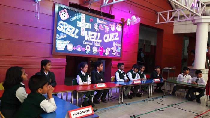 Spell Well Quiz (UKG & I)