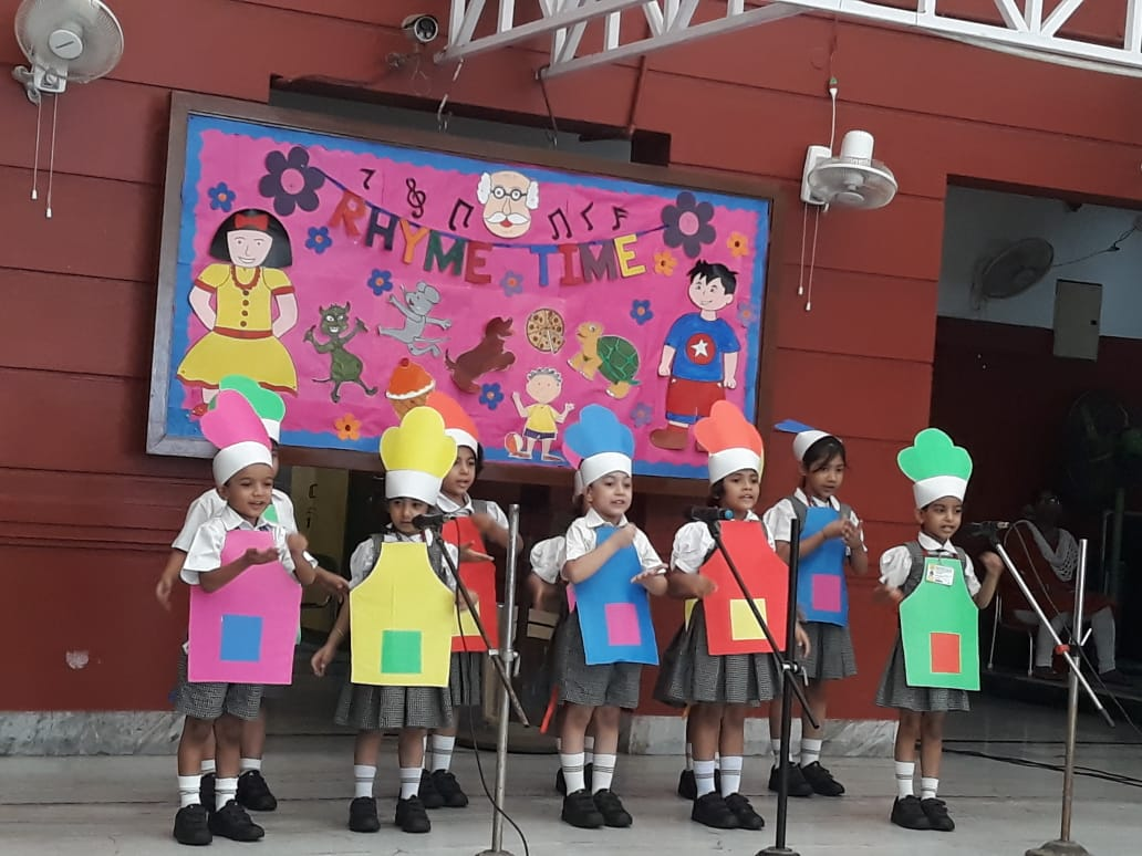 Elocution Activity at DPS Ruby Park, Kolkata (Junior School)
