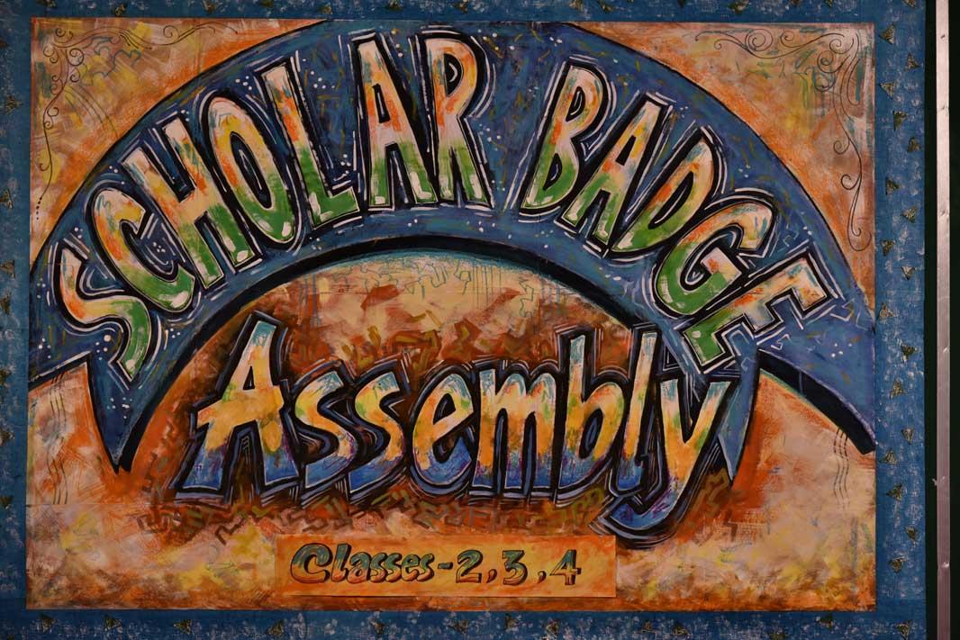 Scholar Badge Assembly 2015-16 (Class 2-4)
