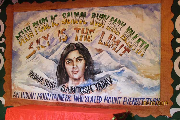 Visit of Smt. Santosh Yadav